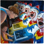 Mother and the clowns15×15
