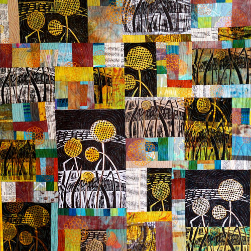 'Blue sky, red dirt, yellow Billy buttons' 2014 Linden Lancaster