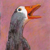 Bird-Head-series-Goose-by-Linden-Lancaster