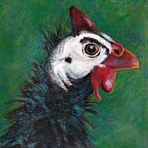 Bird-head-series-Guinea-fowl-by-Linden-Lancaster